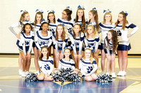 2016-17 Valley Middle Cheer Team Pics
